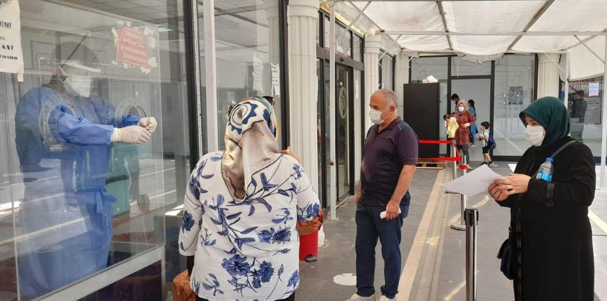 PCR testi zorunlu olunca, Diyarbakır da aşısızlar hastanelere akın etti #3