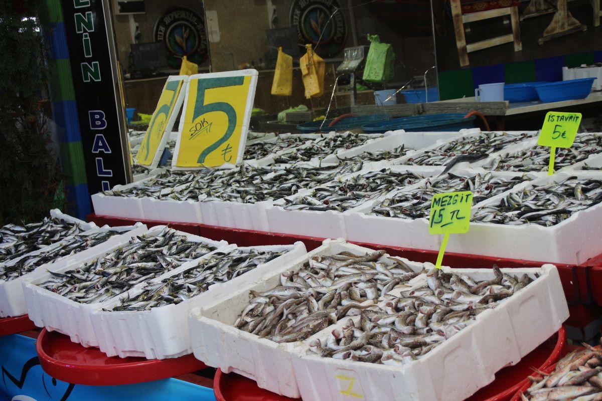Rize'de kilosu 5 TL ye düşen istavrit, kasalarla satılıyor #3