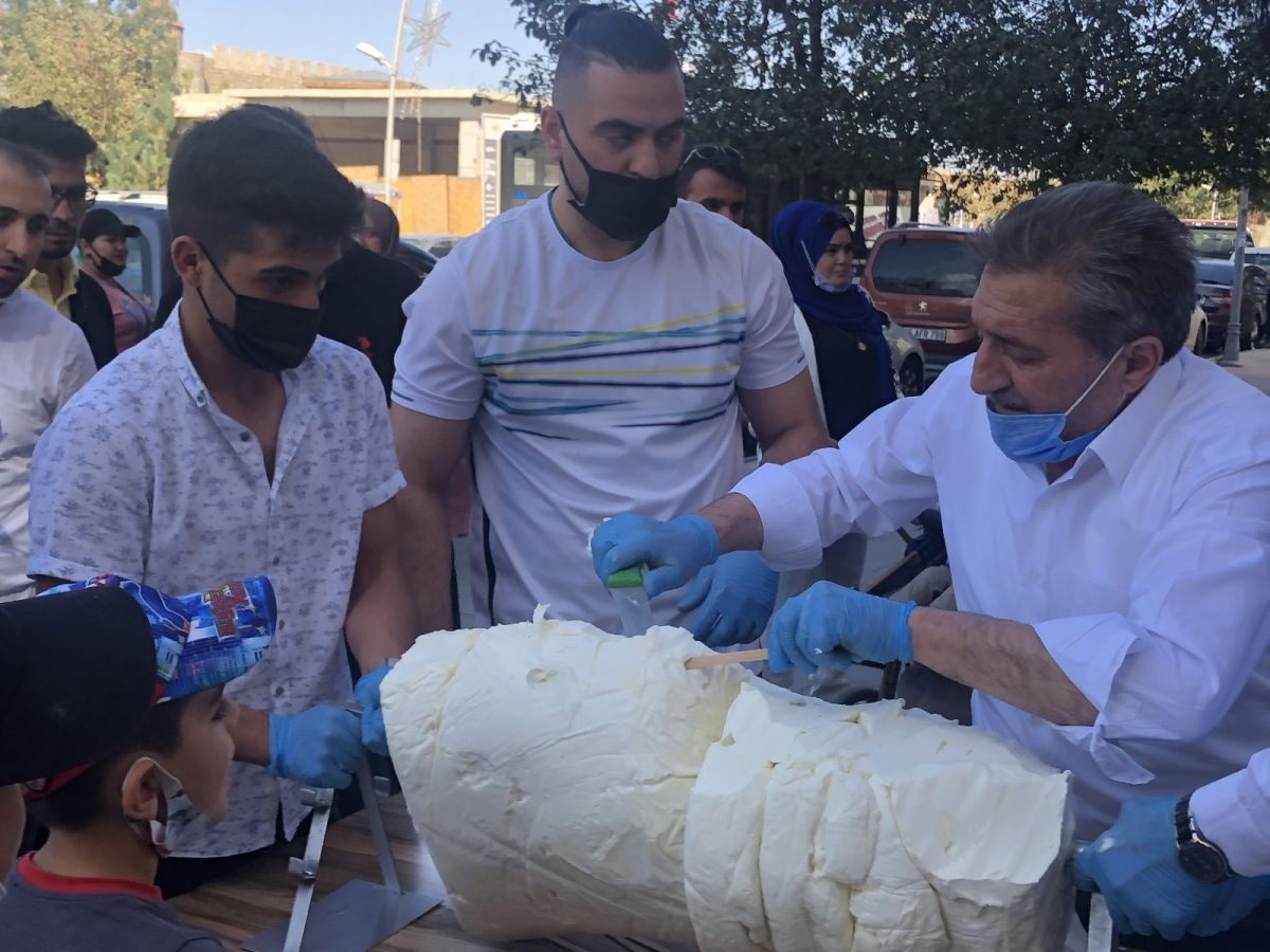 Erzurum da cağ usulü dondurma #9