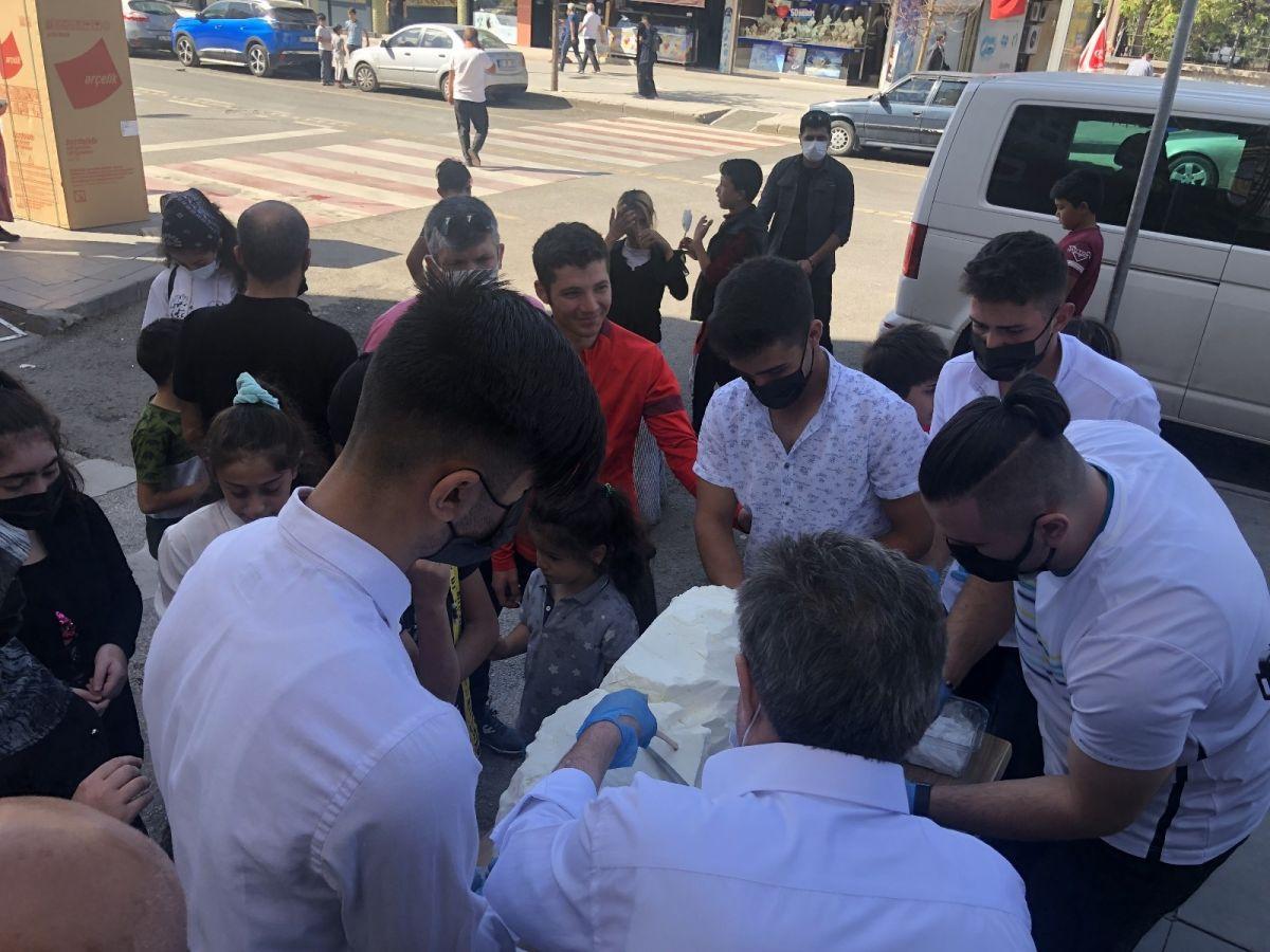 Erzurum da cağ usulü dondurma #10