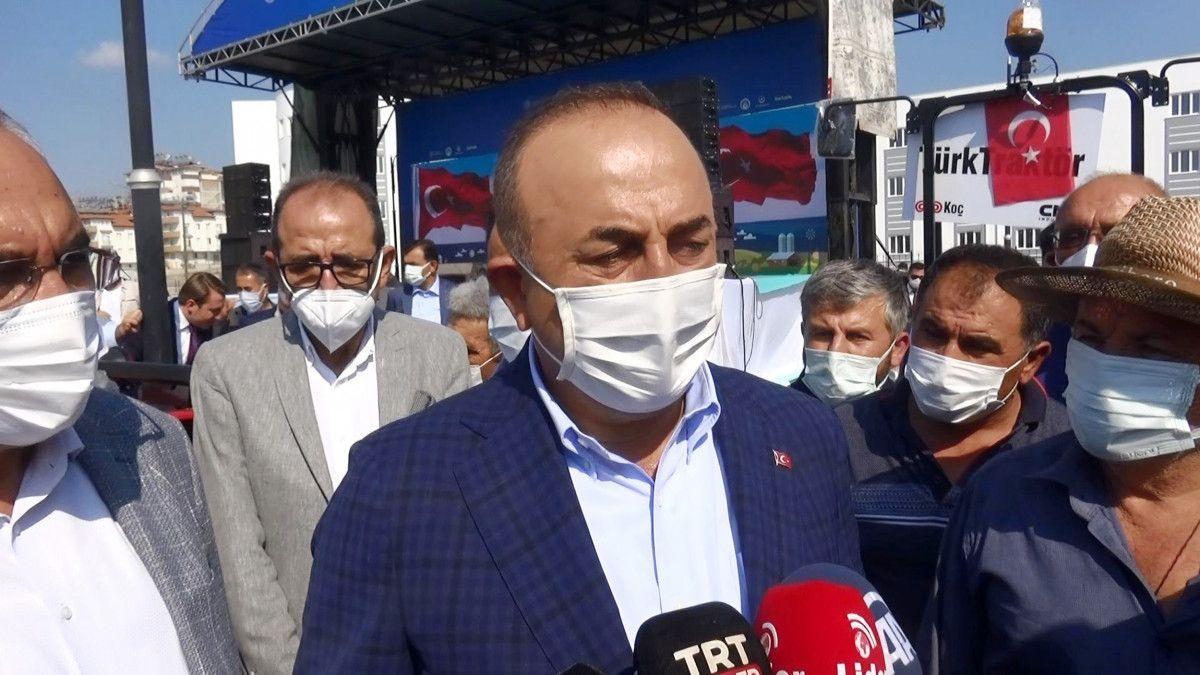 Dışişleri Bakanı Mevlüt Çavuşoğlu mültecilerin gönderilmesi ile ilgili konuştu #4