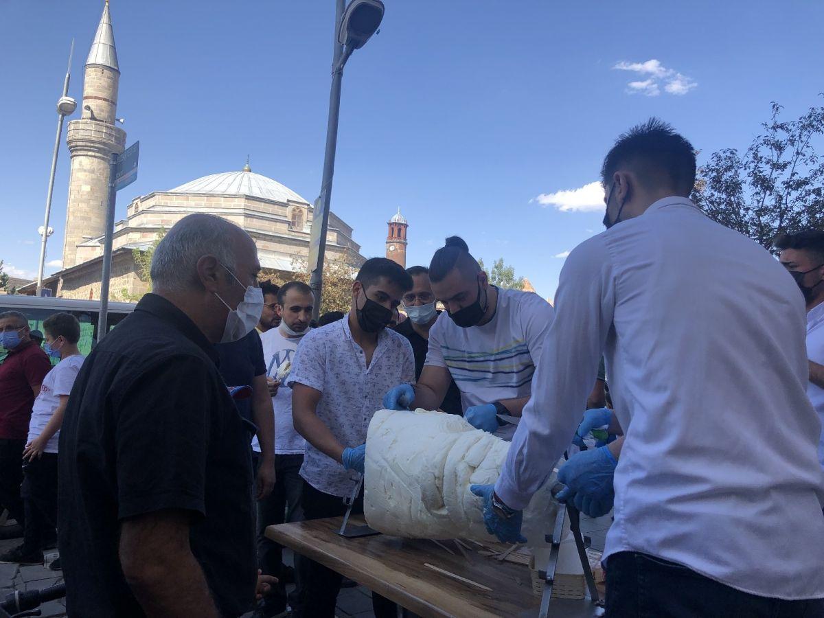 Erzurum da cağ usulü dondurma #1
