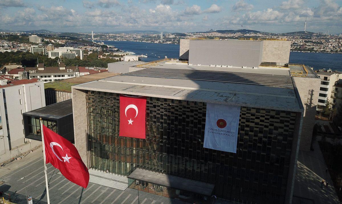 29 Ekim de açılacağı açıklanan AKM de son durum havadan görüntülendi #3