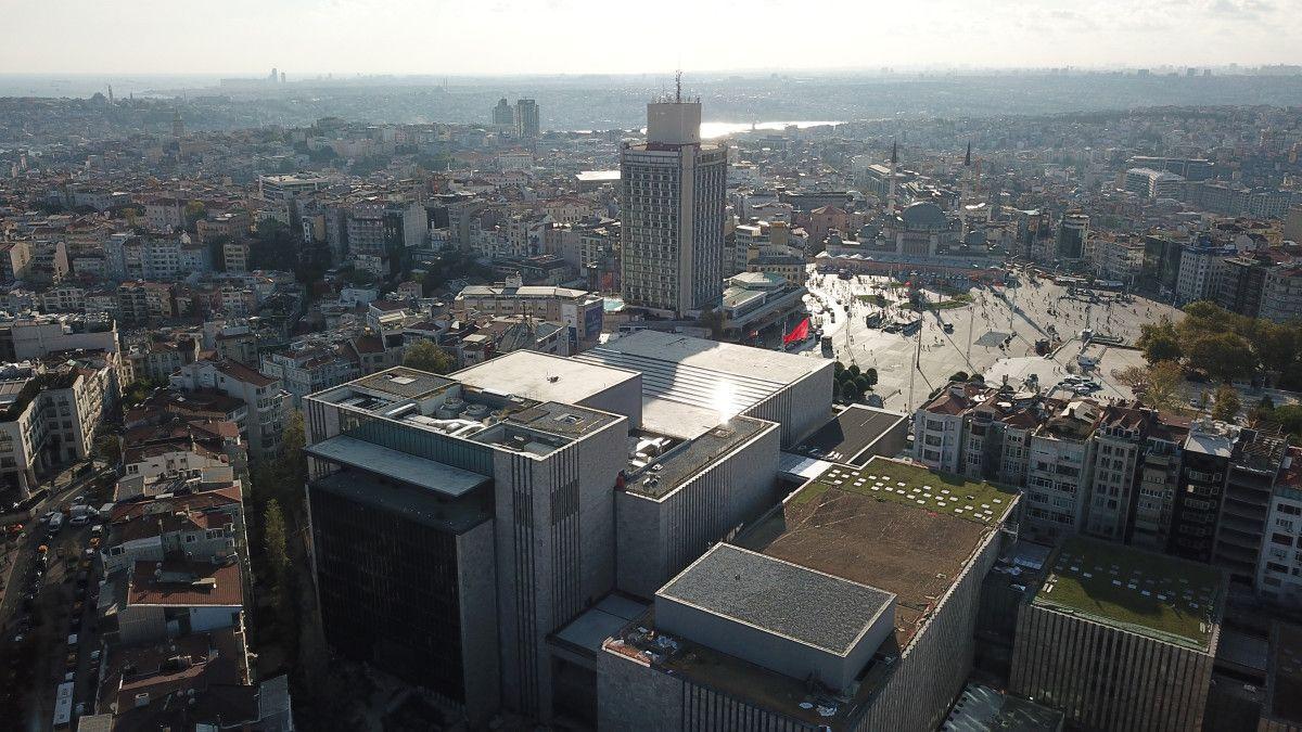 29 Ekim de açılacağı açıklanan AKM de son durum havadan görüntülendi #4
