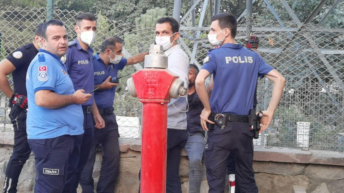 Bursa da alkolün etkisiyle trafoya çıkan kişi, uyudu #8