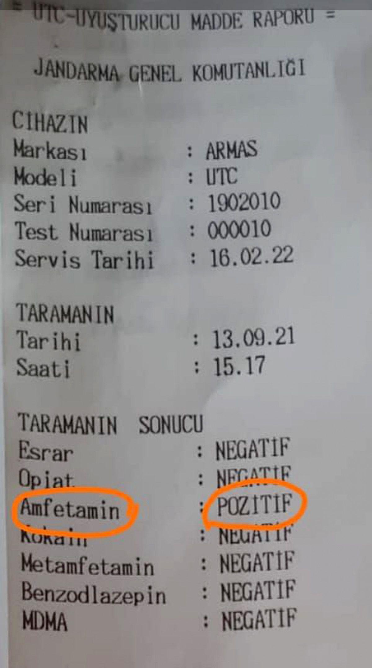 Antalya da ilki yapılan uygulamayla servis şoförünün uyuşturucu kullandığı belirlendi #4