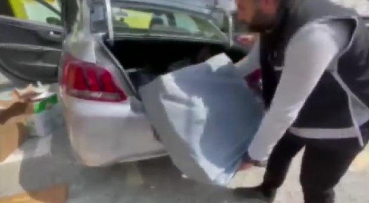 Fatih teki kaçak tütün operasyonunda 80 bin liralık ürün bulundu #7