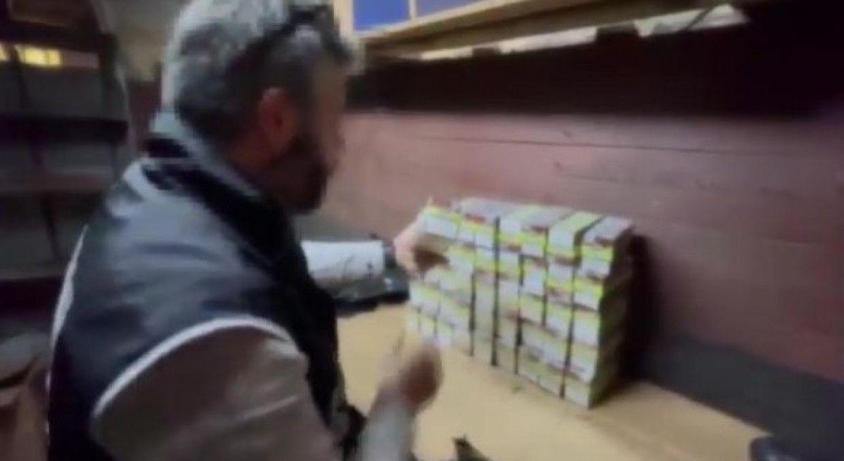 Fatih teki kaçak tütün operasyonunda 80 bin liralık ürün bulundu #8