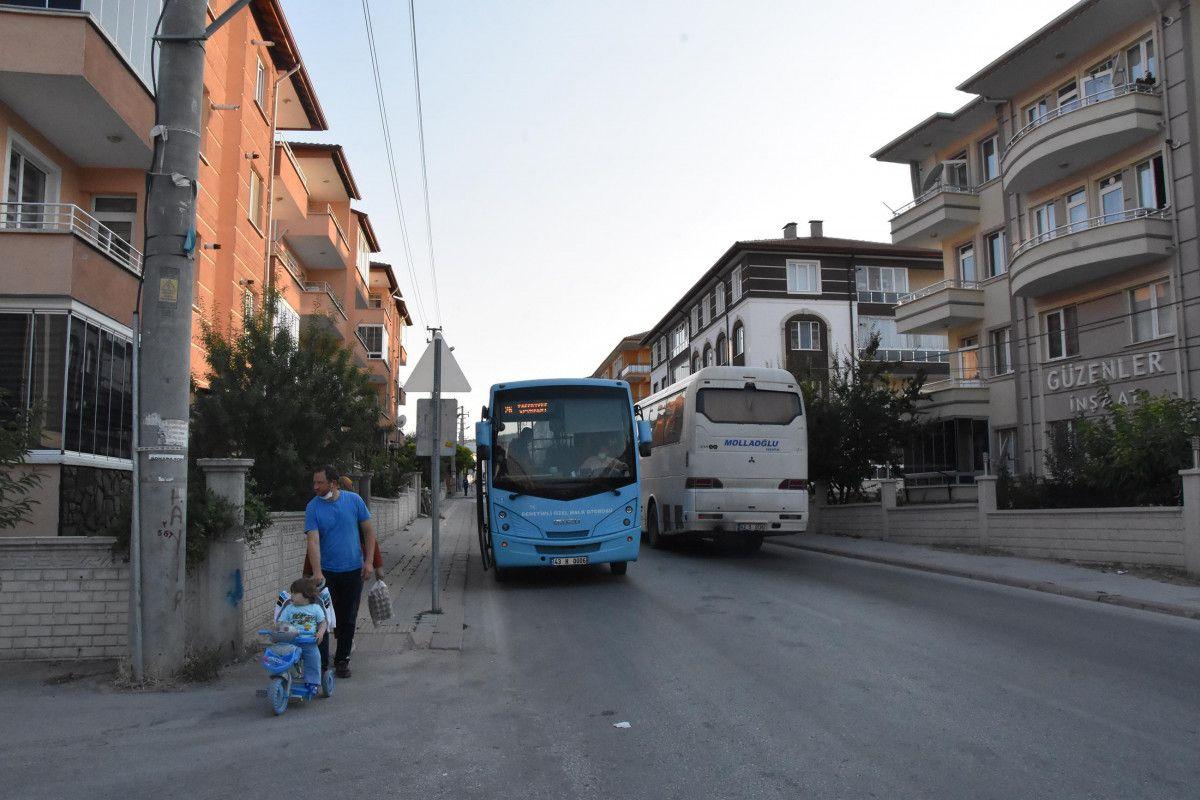 Kütahya da ilk kez bir kadın, otobüs şoförlüğüne başladı #7