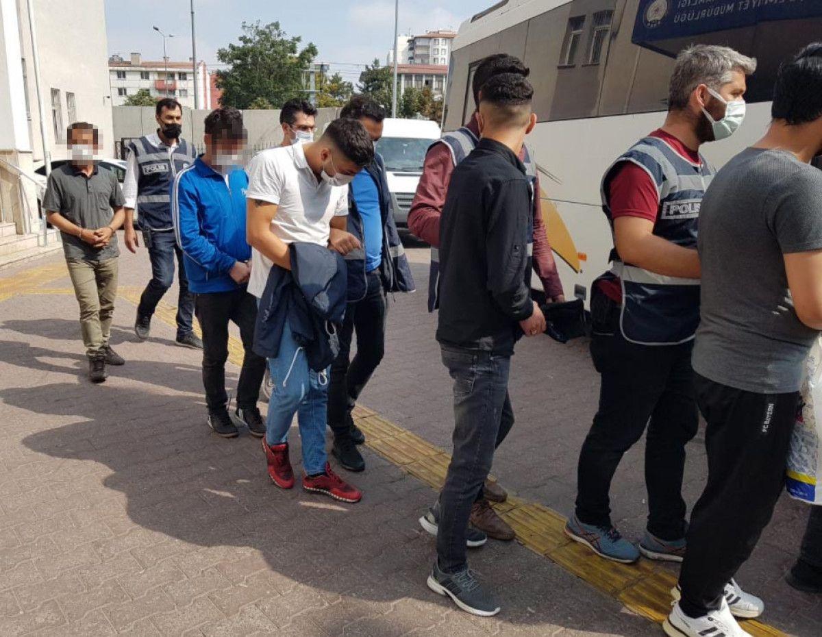 Kayseri'de çeşitli suçlardan aranan 18 şüpheli yakalandı #1