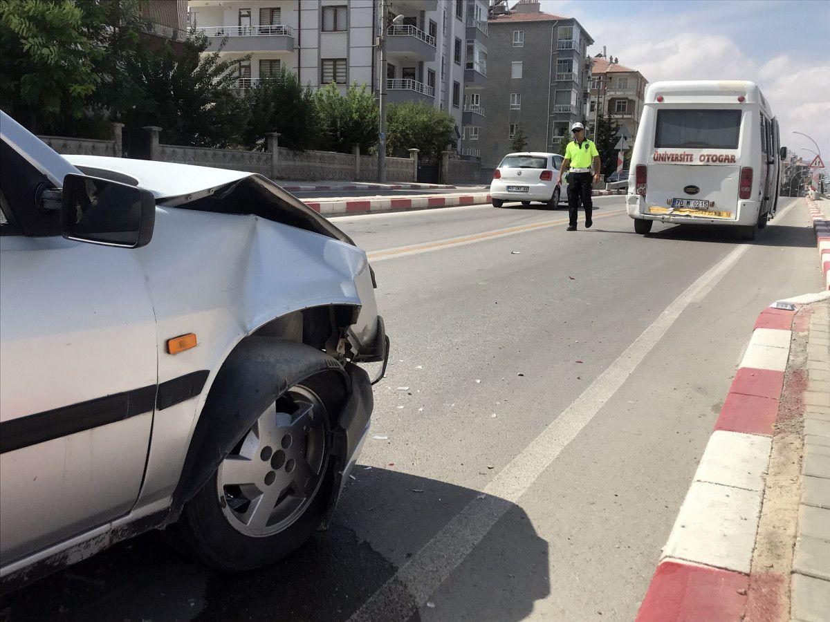 Karaman daki kazada bir minibüs, 12 metre savruldu #4