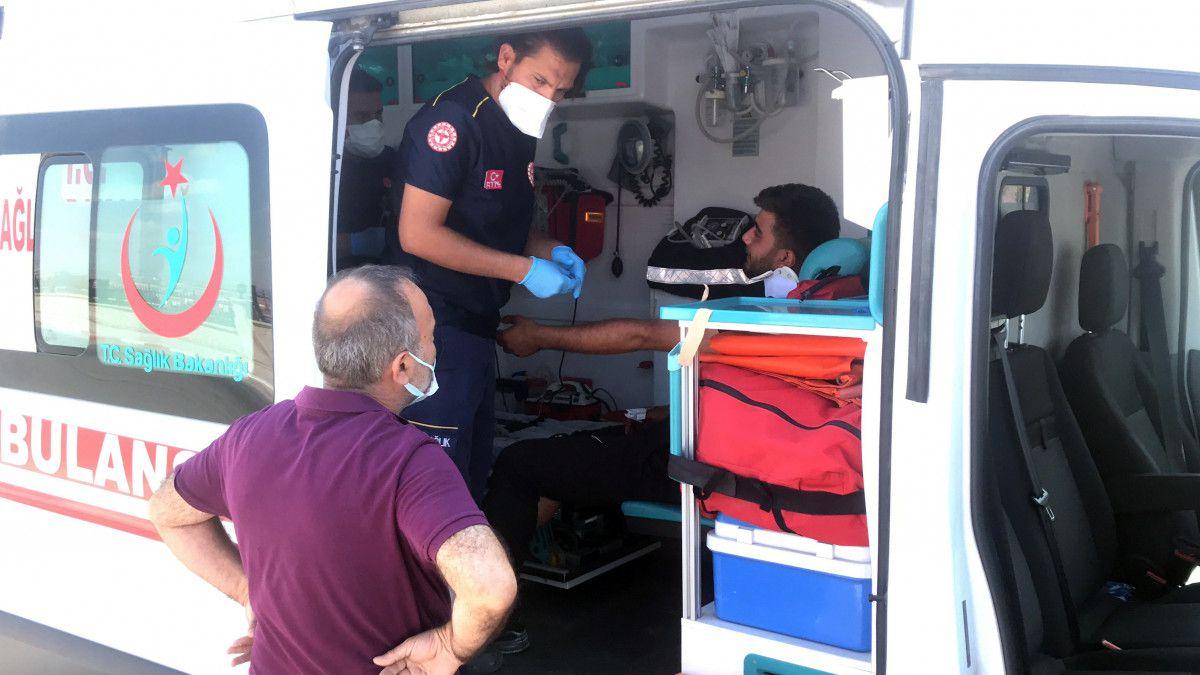 Karaman daki kazada bir minibüs, 12 metre savruldu #5