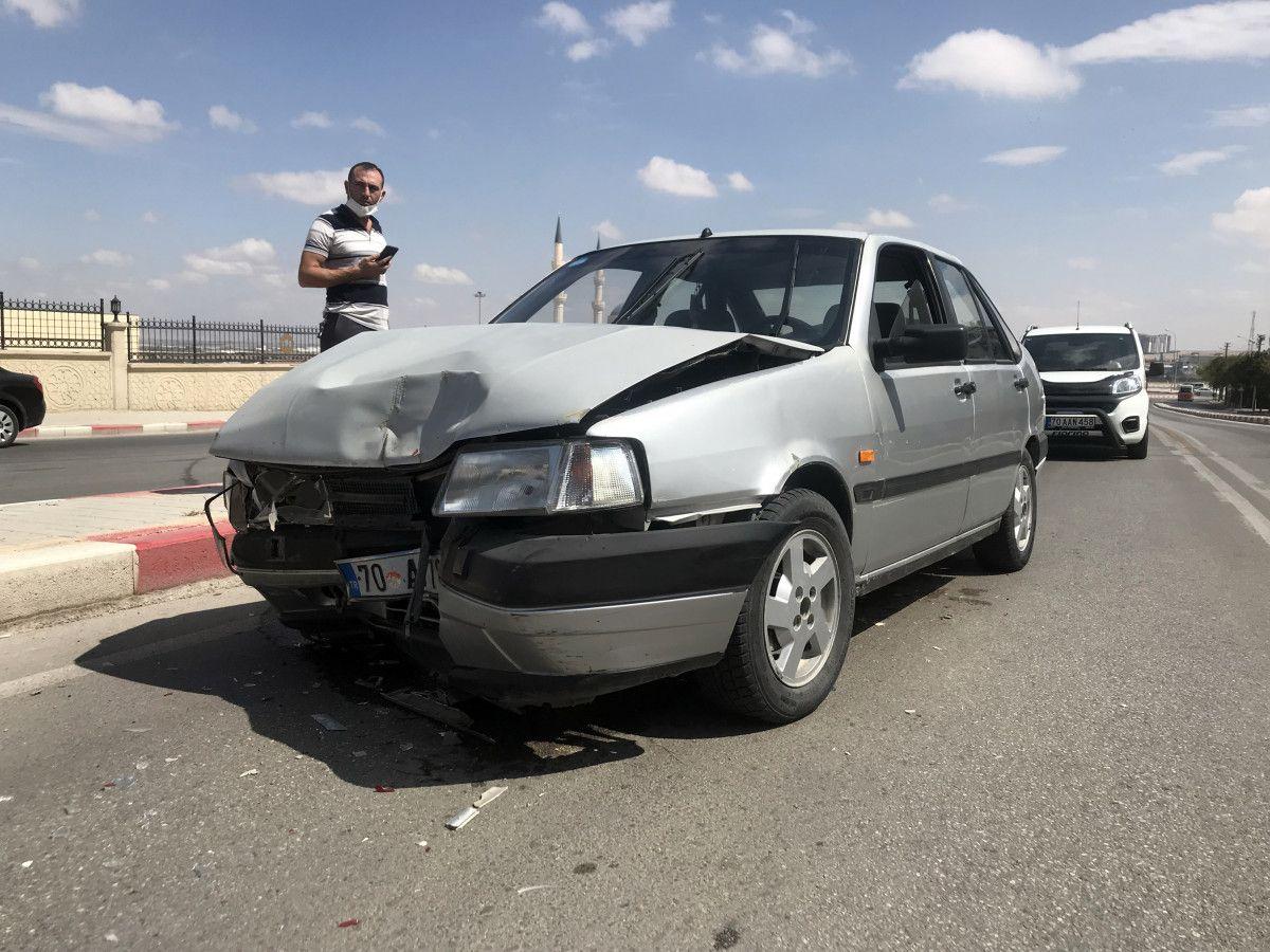 Karaman daki kazada bir minibüs, 12 metre savruldu #3
