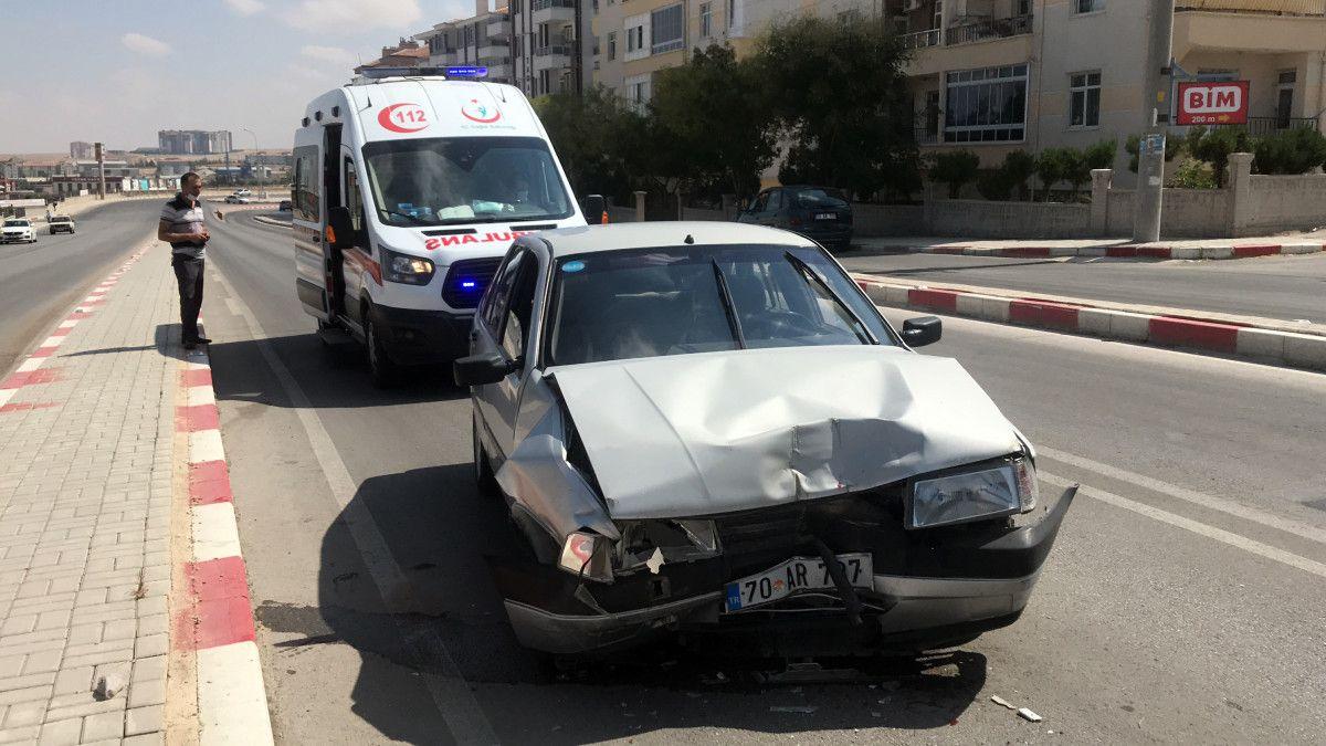 Karaman daki kazada bir minibüs, 12 metre savruldu #1