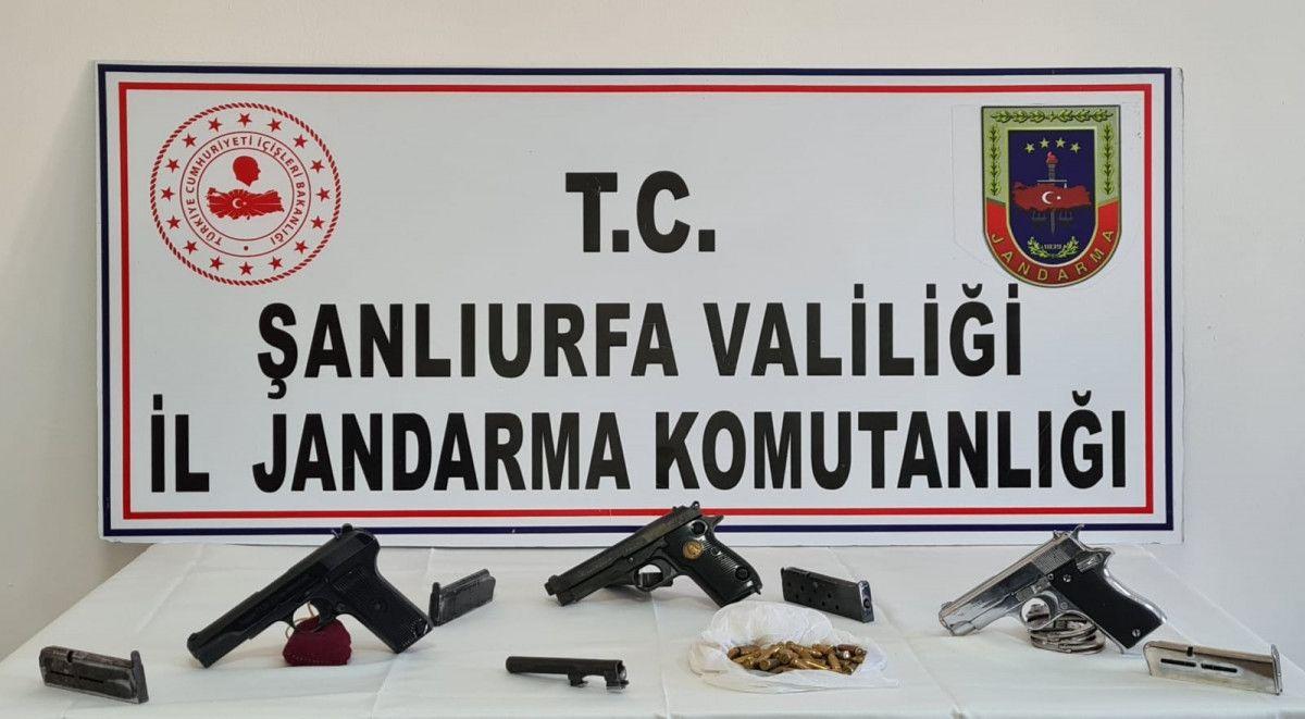 Şanlıurfa'da 2 silah kaçakçısı gözaltına alındı #1