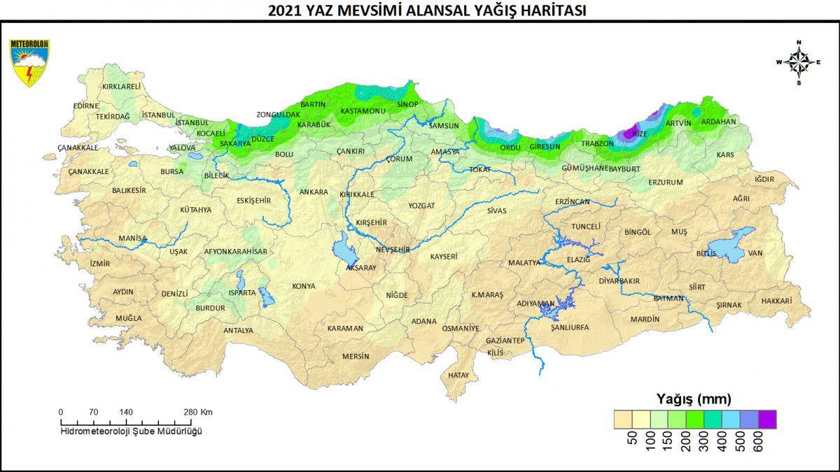 Yağış oranlarında iki farklı bölgede iki rekor #6