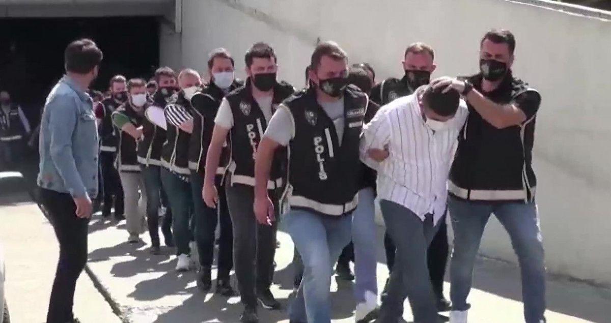 Gaziosmanpaşa da Arap Emrah Çetesi ne operasyon: 23 gözaltı #2