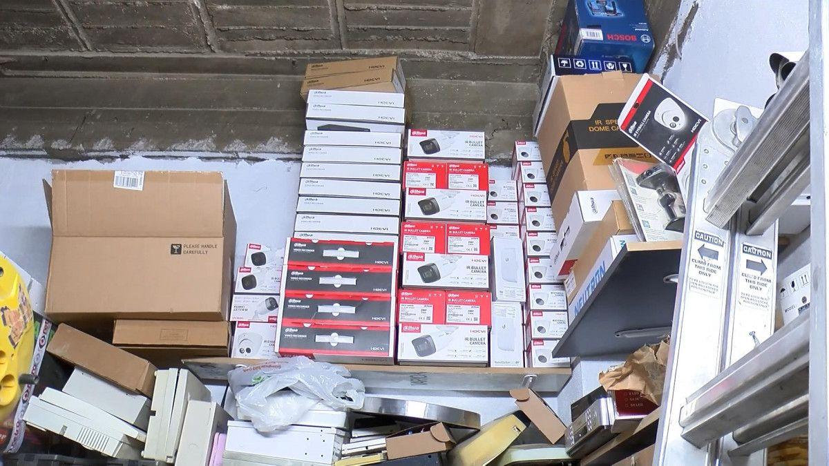 Bursa da hırsızlar güvenlik kamerasını da çaldı #4