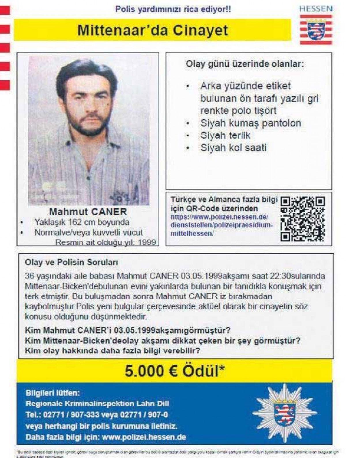Almanya da öldürülen Mahmut, katilinin sesini kaydetti #5