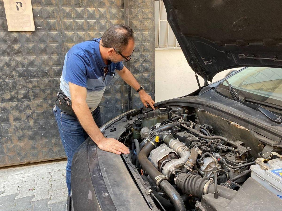 Üsküdar da aldığı aracın önü benzinli arkası dizel çıktı #2