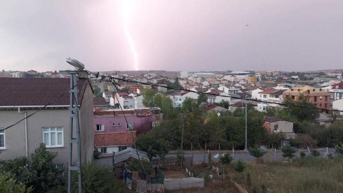 İstanbul da beklenen yağış başladı #3