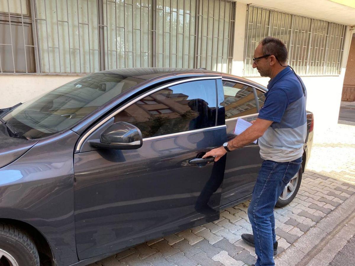 Üsküdar da aldığı aracın önü benzinli arkası dizel çıktı #4