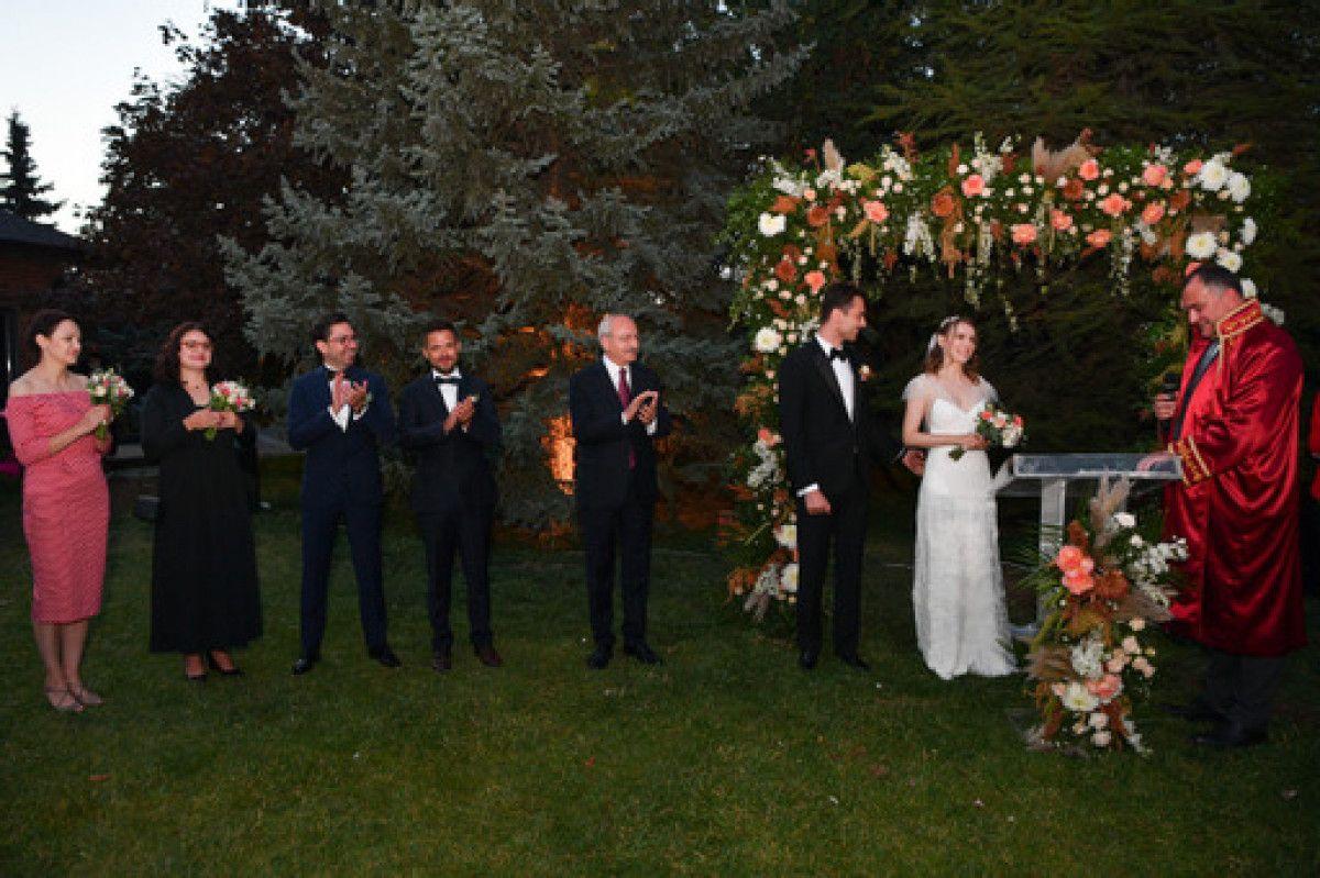 Kemal Kılıçdaroğlu, Ankara da düğün törenine katıldı #2