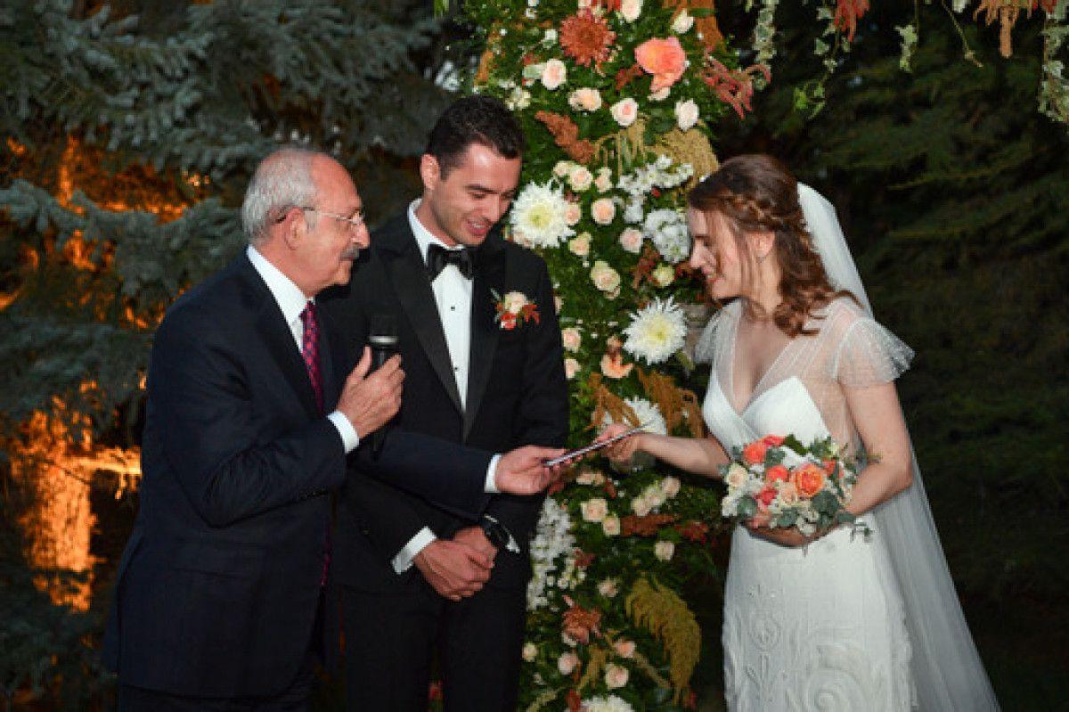 Kemal Kılıçdaroğlu, Ankara da düğün törenine katıldı #1