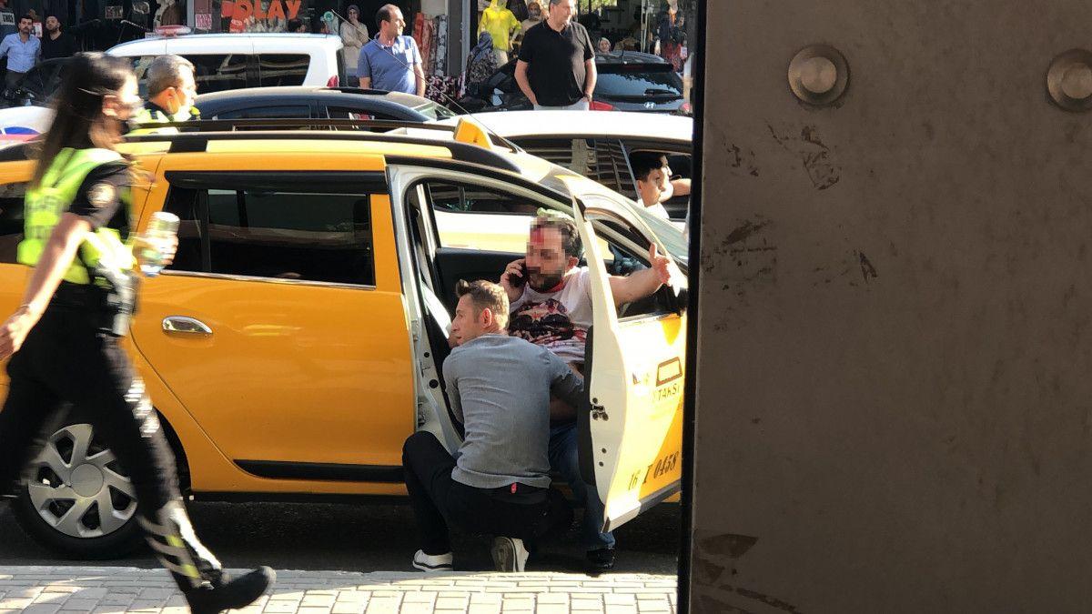 Bursa da taksi şoförü, aracına almadığı müşteriler tarafından bıçaklandı #1