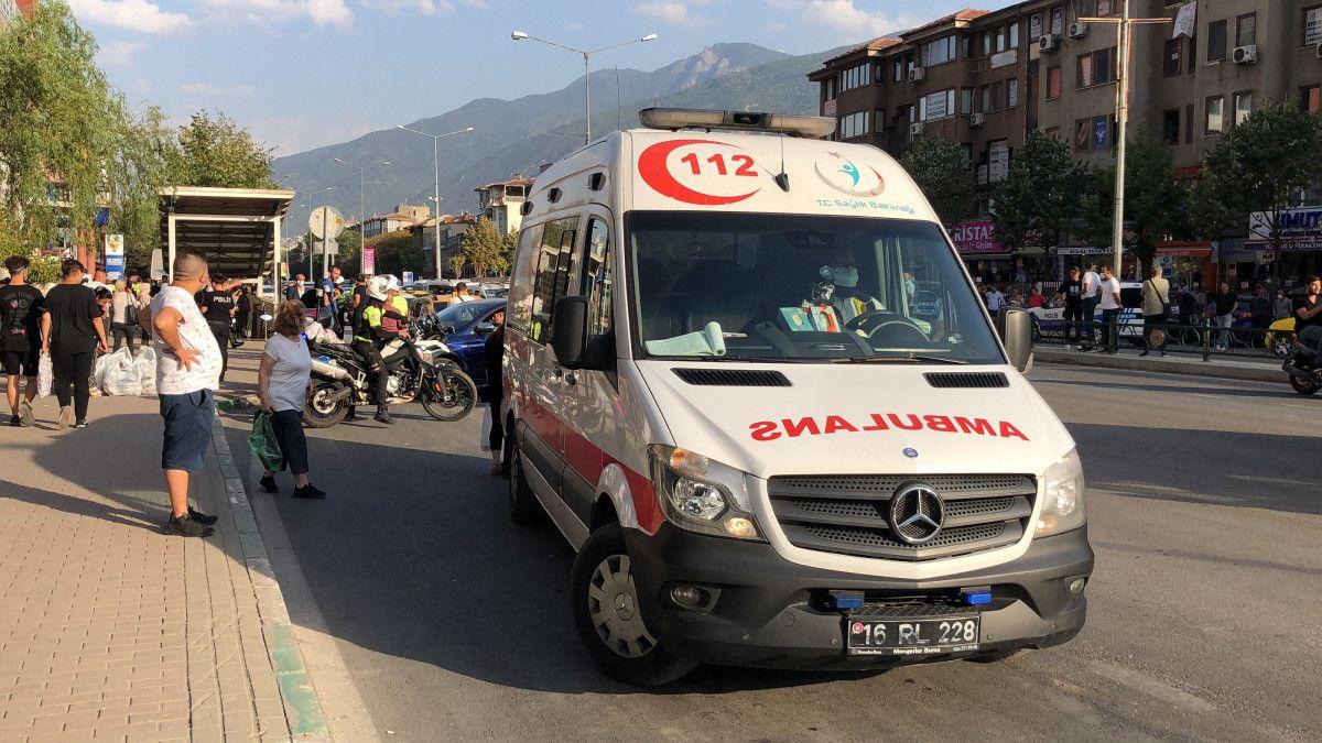 Bursa da taksi şoförü, aracına almadığı müşteriler tarafından bıçaklandı #6