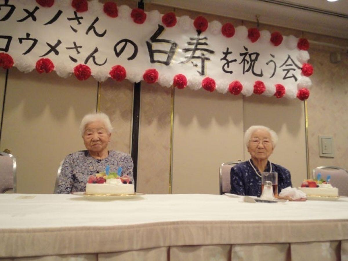 Dünyanın en yaşlı tek yumurta ikizleri Japonya da tescillendi #2