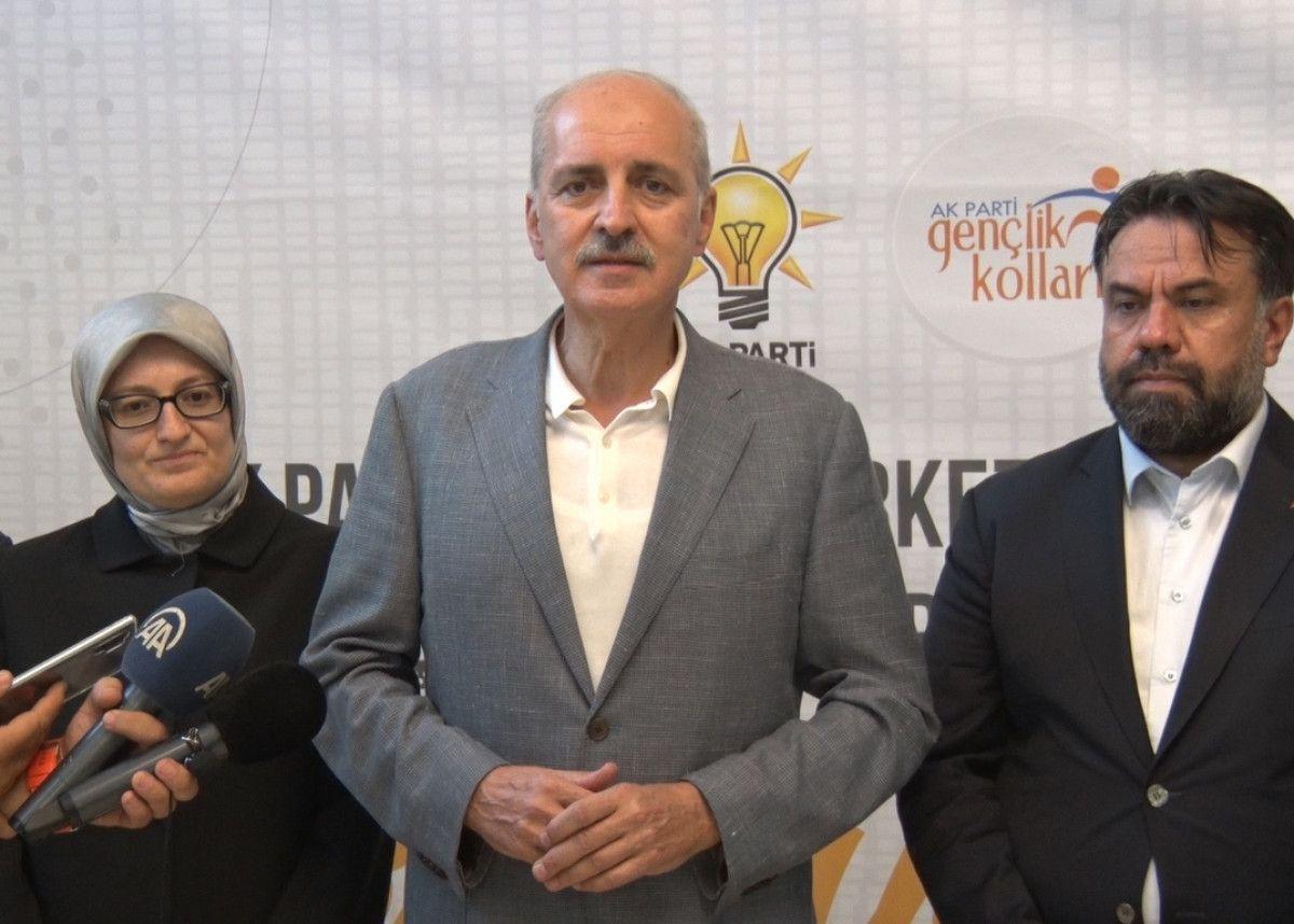 Numan Kurtulmuş: AK Parti Z kuşağında açık ara birinci partidir #3