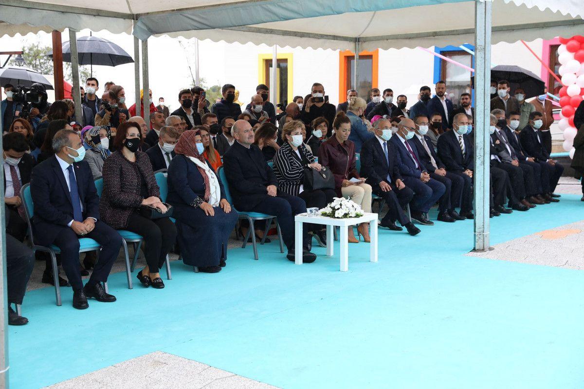 Süleyman Soylu, Eren Bülbül adına yapılan okulun açılışına katıldı #4