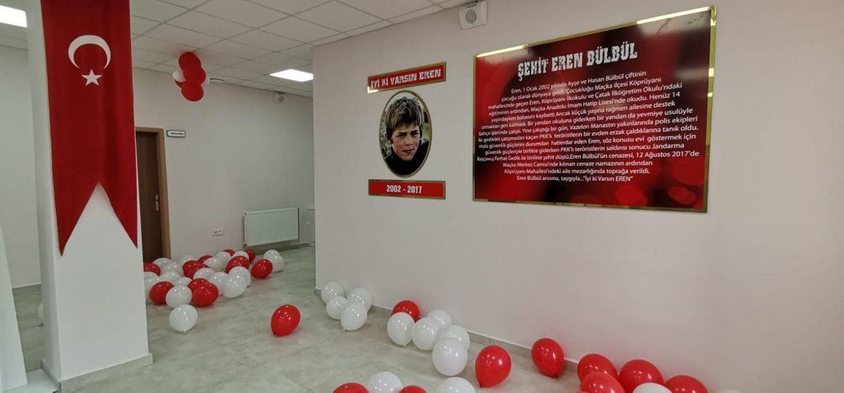 Süleyman Soylu, Eren Bülbül adına yapılan okulun açılışına katıldı #6