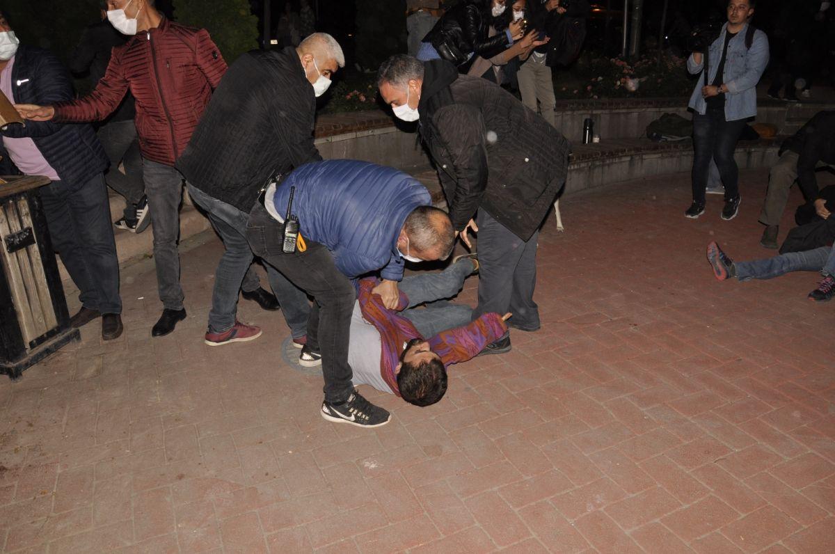Eskişehir de yurt provokasyonu: Gözaltına alınanlar devlete hakaret etti #3