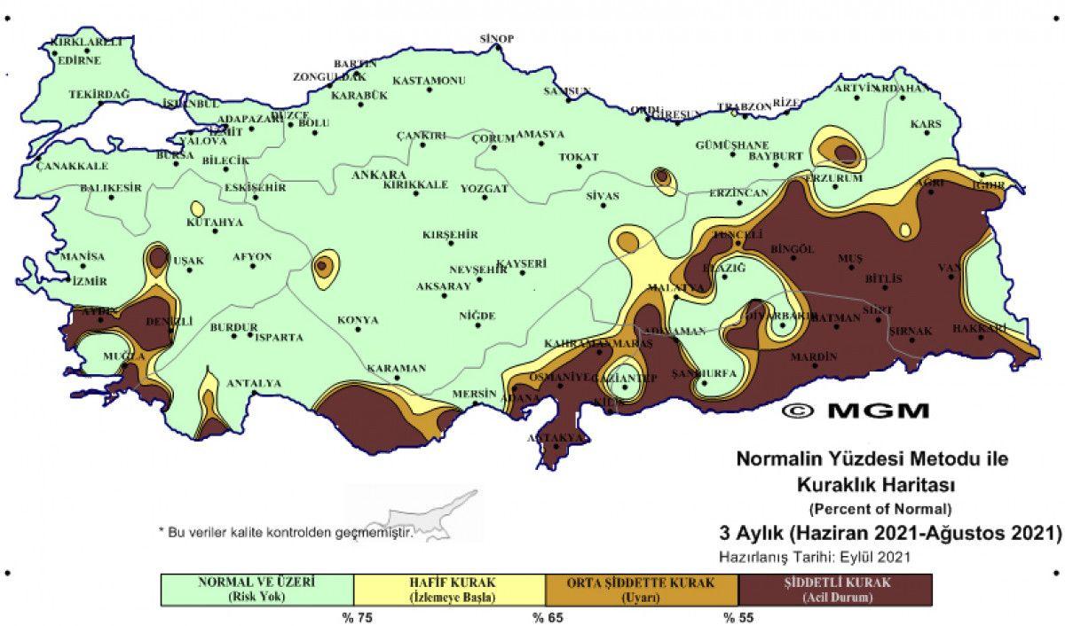 Türkiye, en şiddetli kuraklığı ağustos ayında yaşadı #2