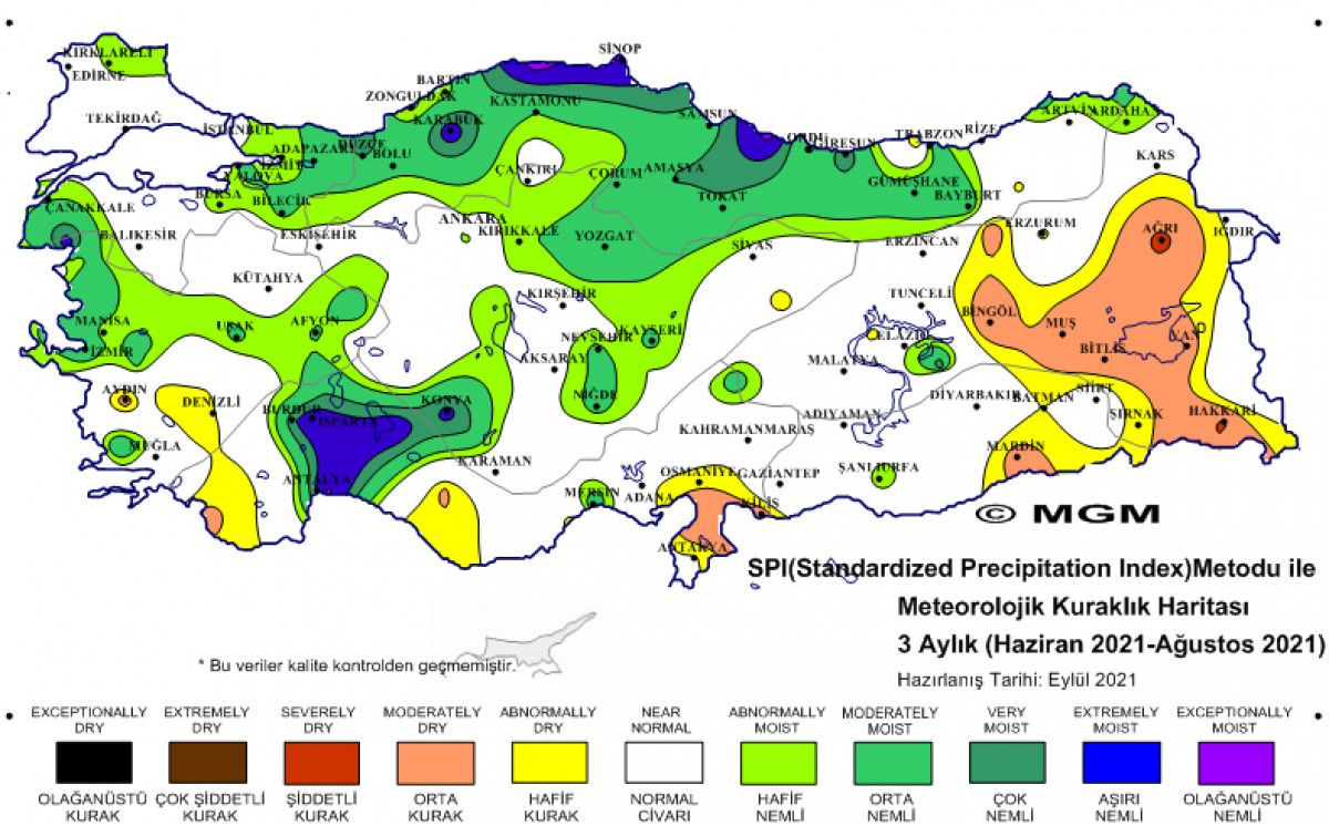 Türkiye, en şiddetli kuraklığı ağustos ayında yaşadı #4