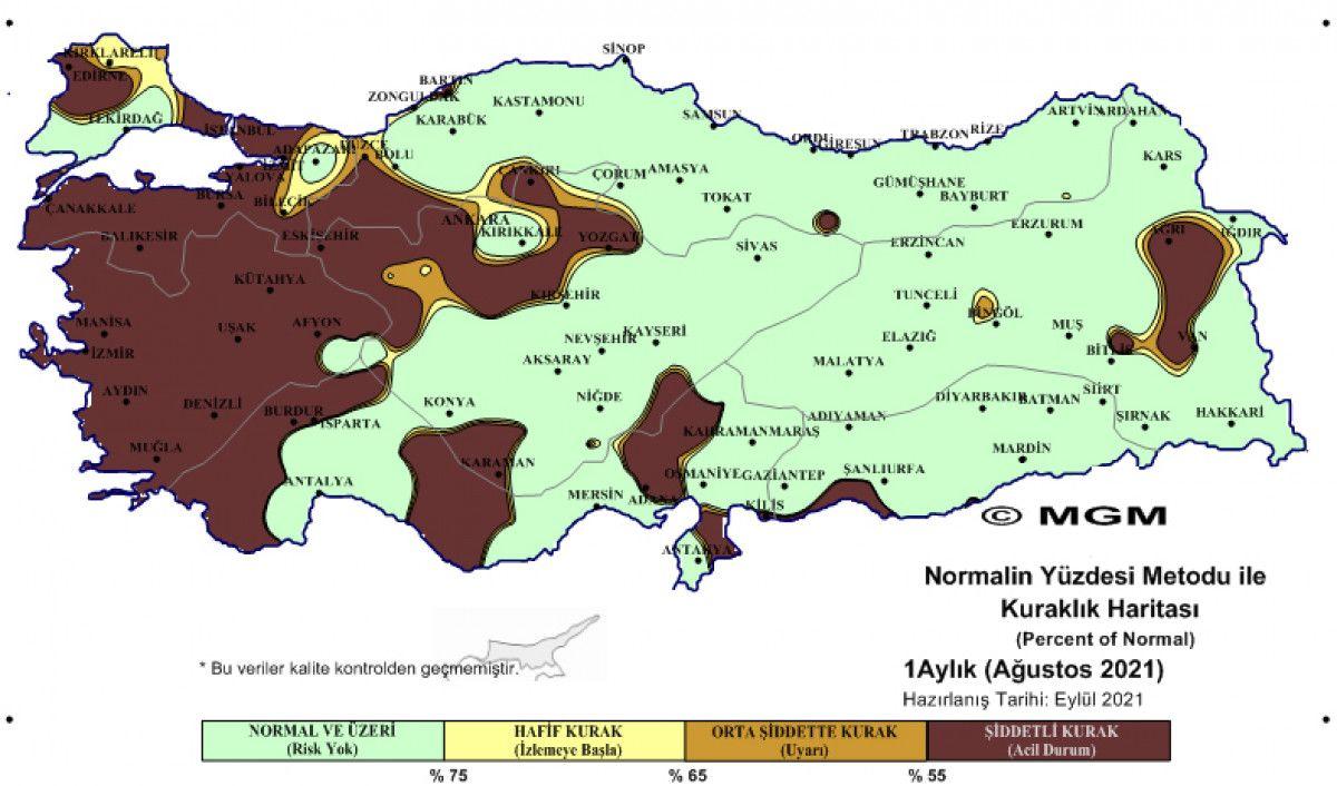 Türkiye, en şiddetli kuraklığı ağustos ayında yaşadı #3