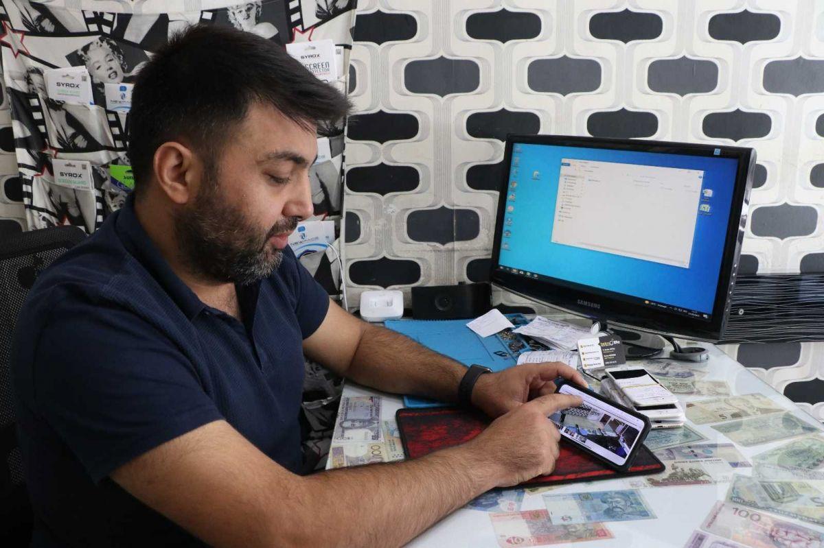 Mersin'de bir hırsız, bozuk telefonu çaldı #7