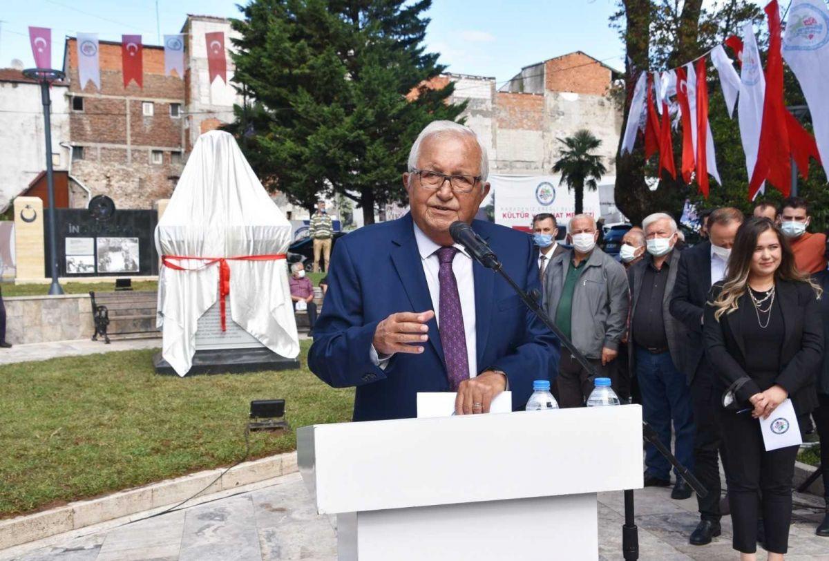 Zonguldak ta İsmet İnönü nün adı verilen park ve büst açıldı #2