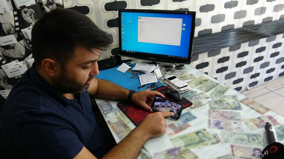 Mersin'de bir hırsız, bozuk telefonu çaldı #1