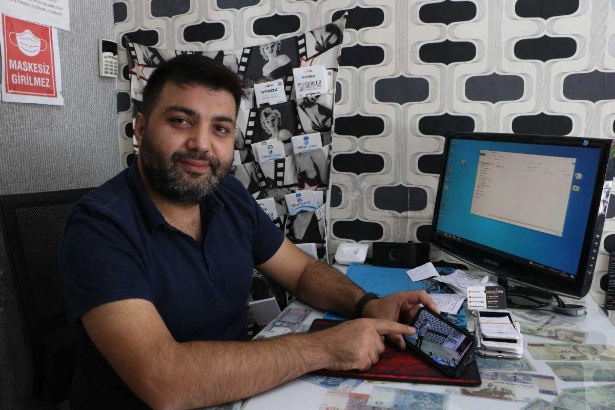Mersin'de bir hırsız, bozuk telefonu çaldı #2