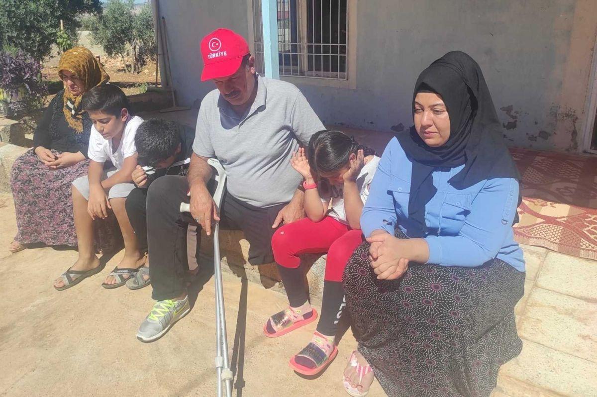 Gaziantep te eski damat dehşeti: Engelli kayınpederini dövdü #3