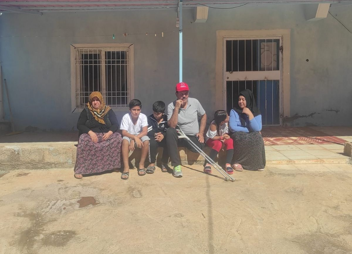 Gaziantep te eski damat dehşeti: Engelli kayınpederini dövdü #5