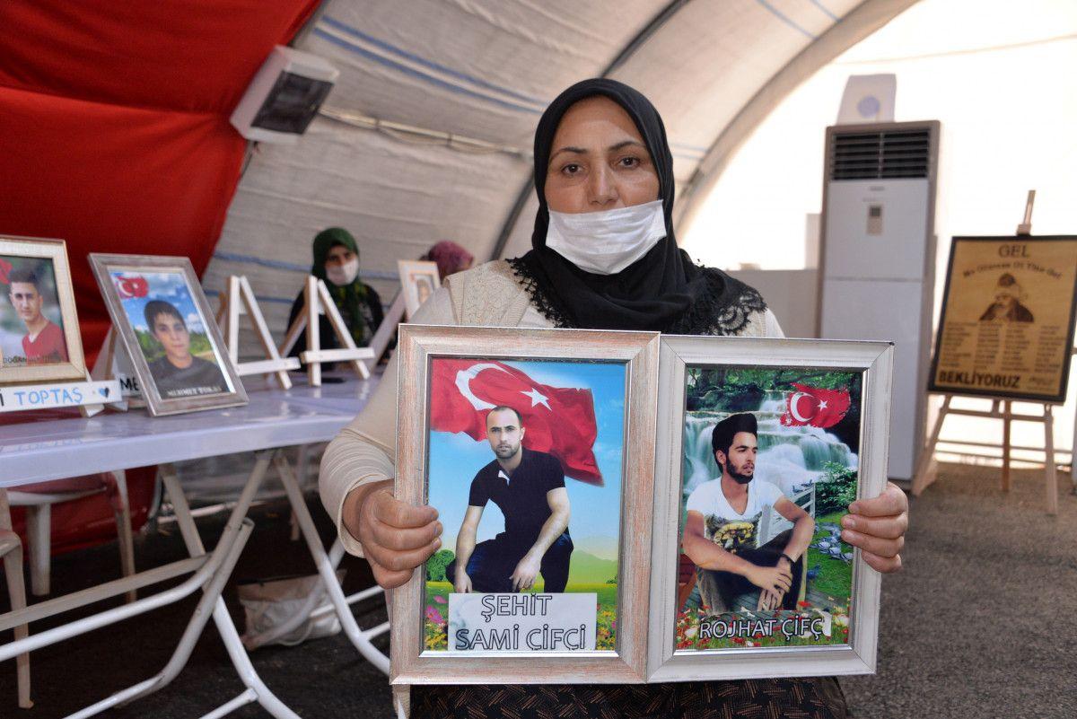 Diyarbakır da evlat nöbetindeki anne: İki evlat acısıçekiyorum #2