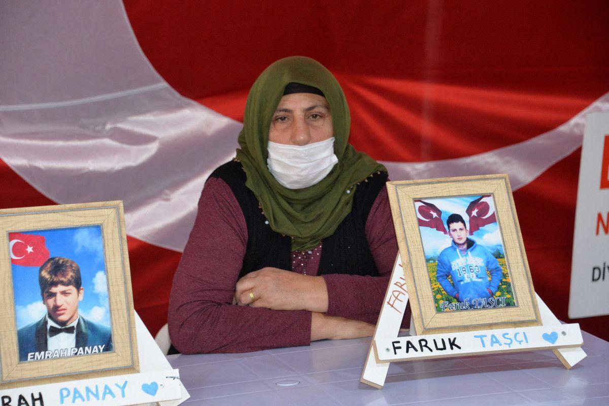 Diyarbakır da evlat nöbetindeki anne: İki evlat acısıçekiyorum #6