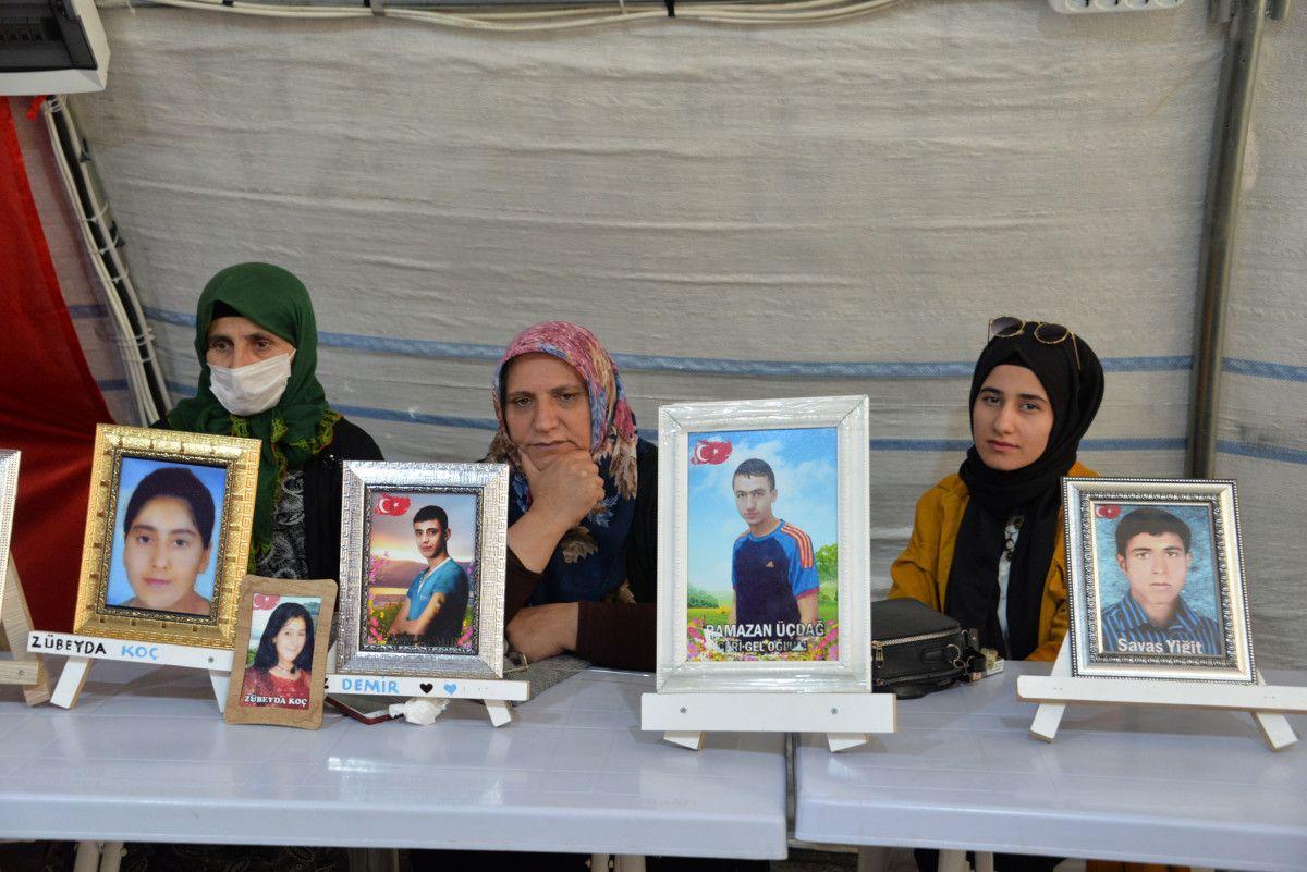 Diyarbakır da evlat nöbetindeki anne: İki evlat acısıçekiyorum #5