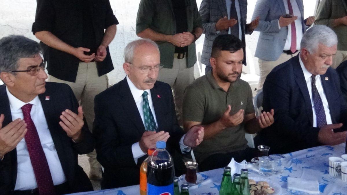 Kemal Kılıçdaroğlu ndan taziye ziyareti #2