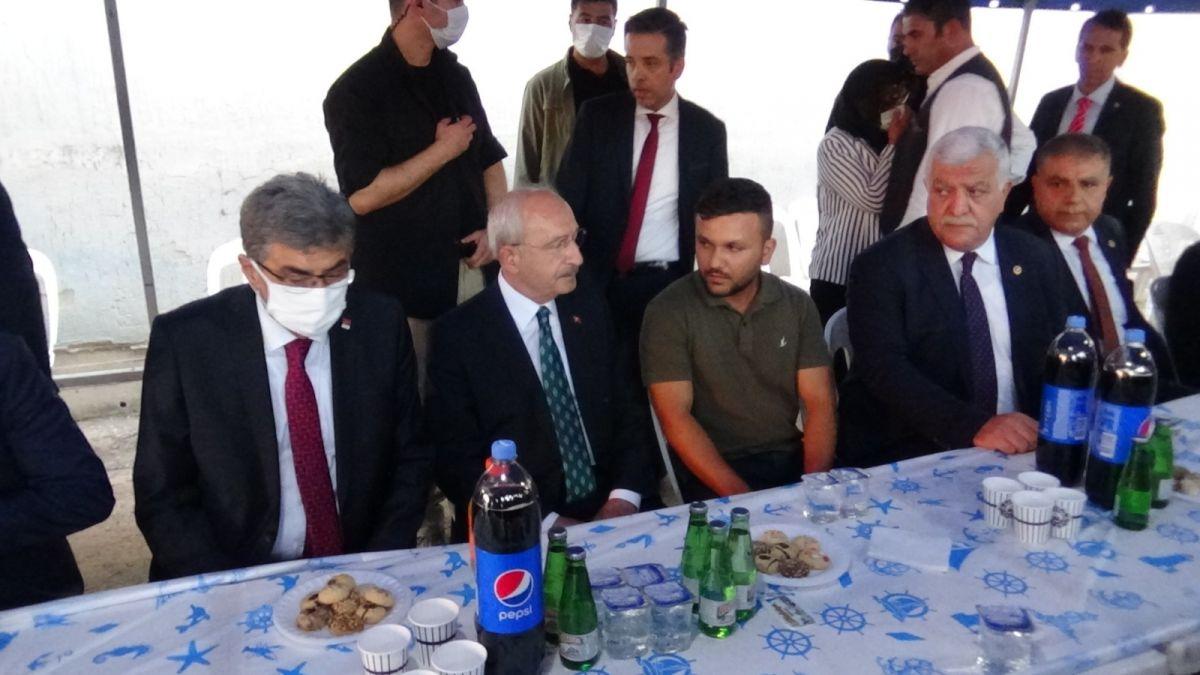 Kemal Kılıçdaroğlu ndan taziye ziyareti #3