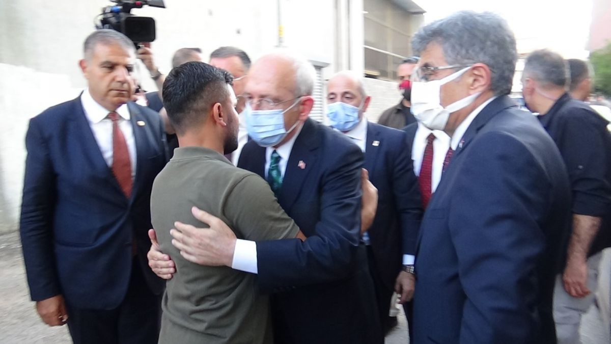 Kemal Kılıçdaroğlu ndan taziye ziyareti #4